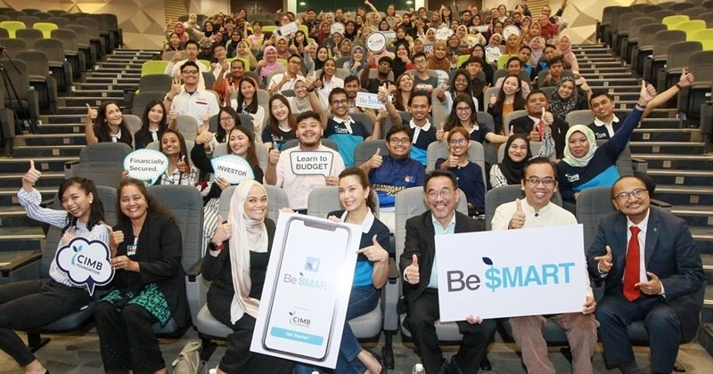 CIMB Foundation Releases Be$MART App To Help Youths Plan Finances Effectively