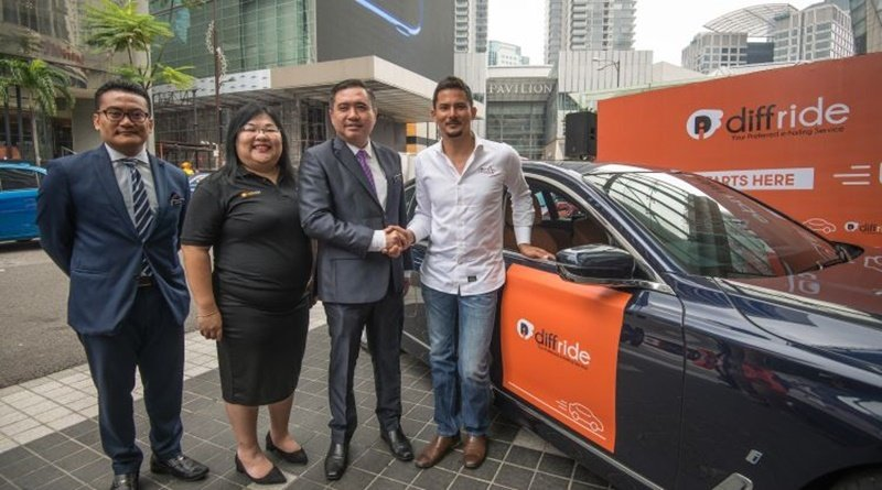 diffride, The New E-Hailing App In Malaysia
