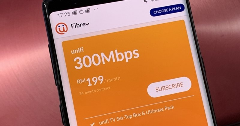 TM Offers 300Mbps Unifi Broadband Package For RM199/Month