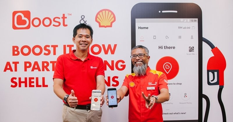 Boost e-Wallet Now Accepted At 800 Shell Stations Nationwide