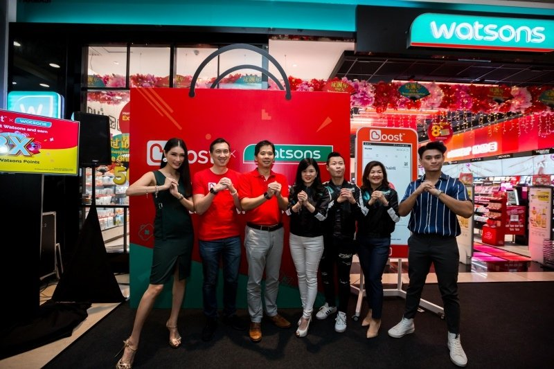 Boost E-Wallet Can Now Be Used At All Watsons Outlets Nationwide