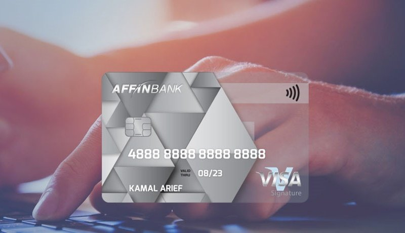 Affin Bank Launches Credit Card That Offers 3% Cashback On Contactless Transactions