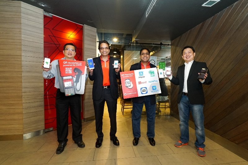 CIMB Bank Rolls Out QR Payment Support At Credit Card Payment Terminals