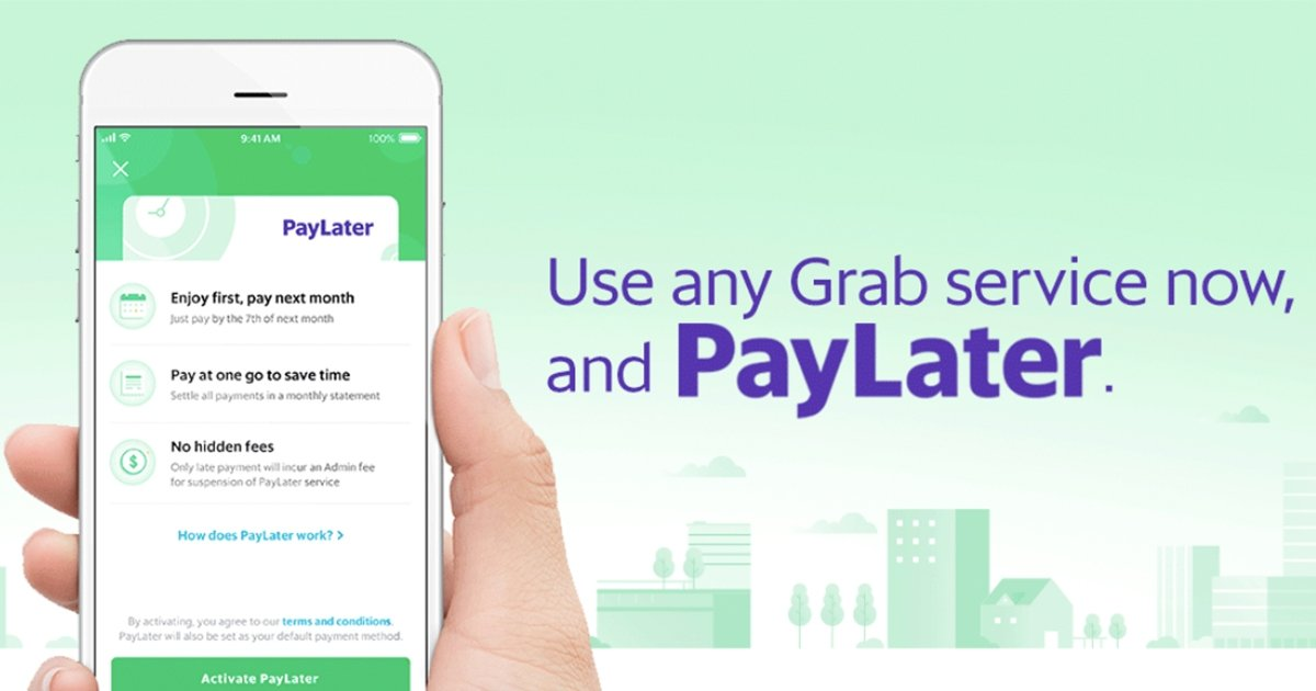 Grab PayLater: A Monthly Statement For Your Grab Transactions