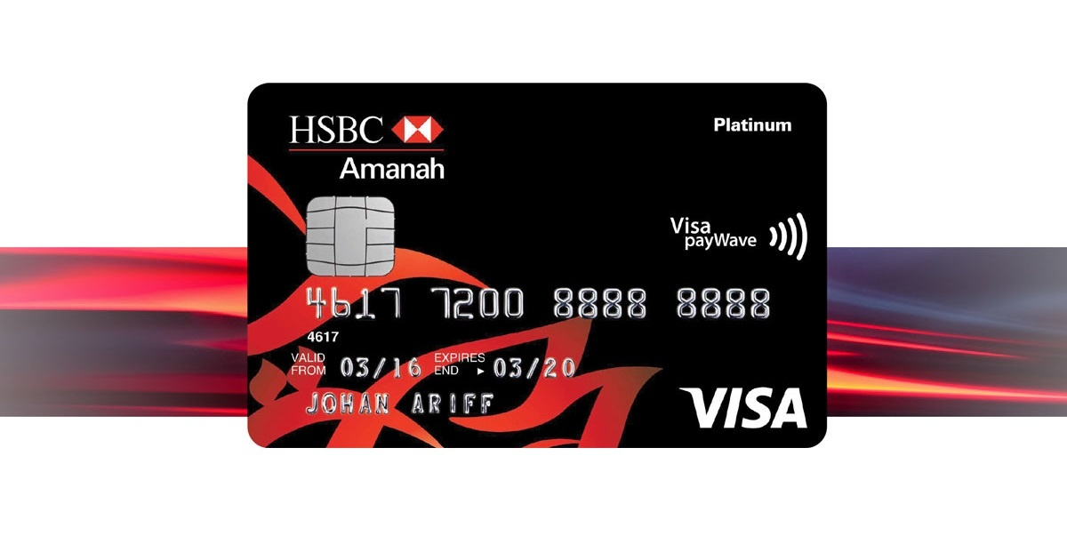 HSBC Amanah MPower Platinum Credit Card-i Relaunch: New Cashback For E-Wallet Reloads & More