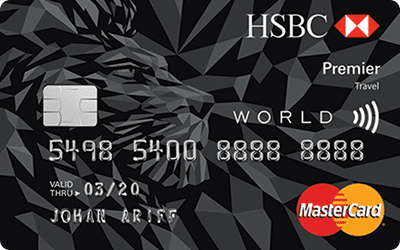 RinggitPlus HSBC Premier Travel Credit Card