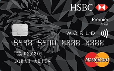 RinggitPlus HSBC Premier Travel Credit Card