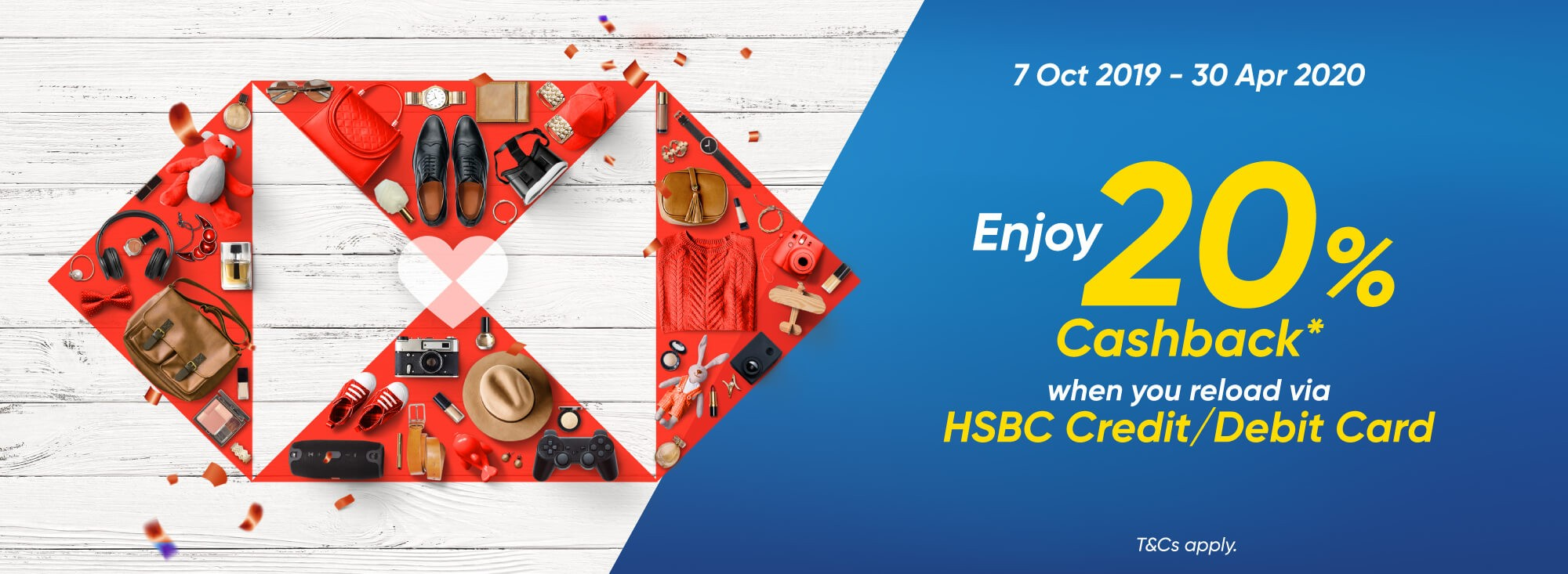 HSBC Is Rewarding Cardholders For Using E-Wallets - Here's How To Earn 26.67% Returns