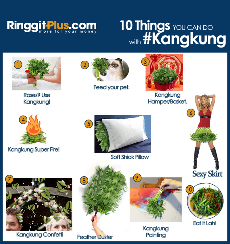 Top 10 things you can do with Kangkung