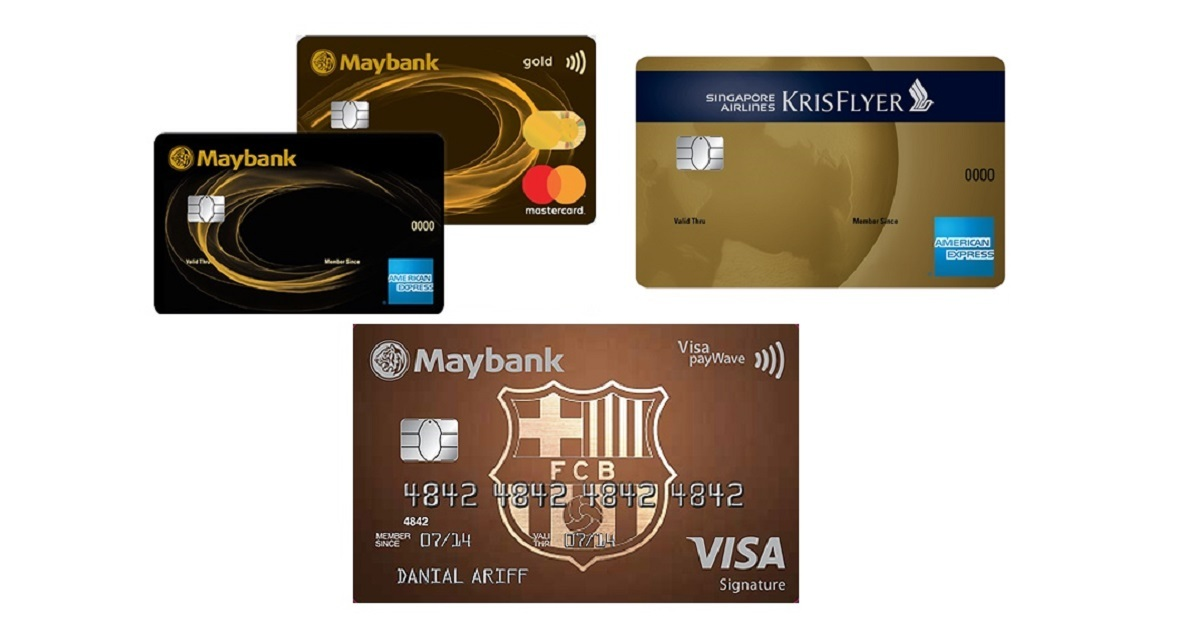 Maybank Revises Benefits For Maybank 2 Cards, FC Barcelona Visa Signature, & Singapore Airlines KrisFlyer American Express Cards