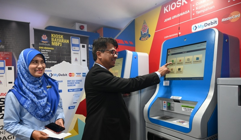 You Can Now Settle Your PJ Council-Related Bills AT MBPJ's Self-Service Electronic Kiosks