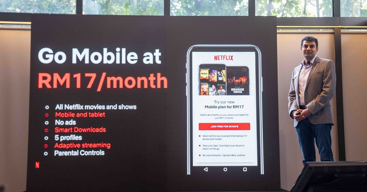 Netflix Officially Launches RM17 Mobile-Only Plan In Malaysia
