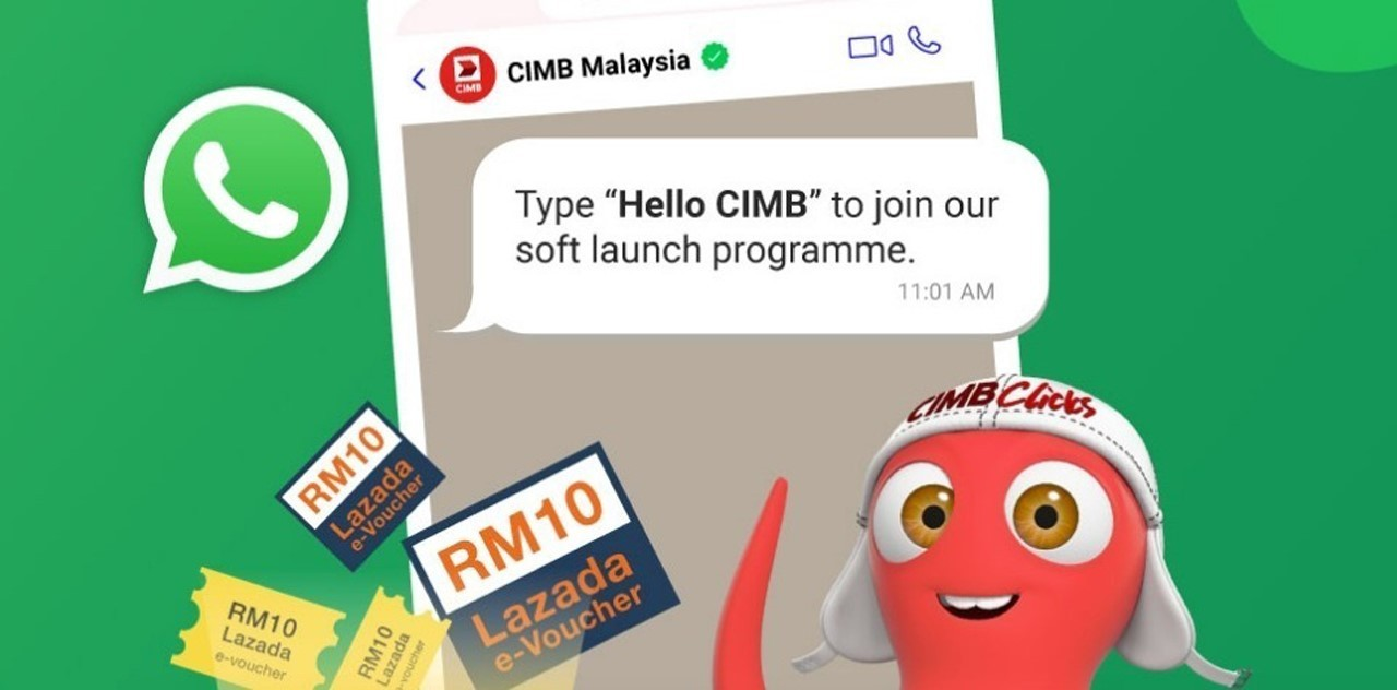 CIMB Bank Has Launched Its Own WhatsApp Account