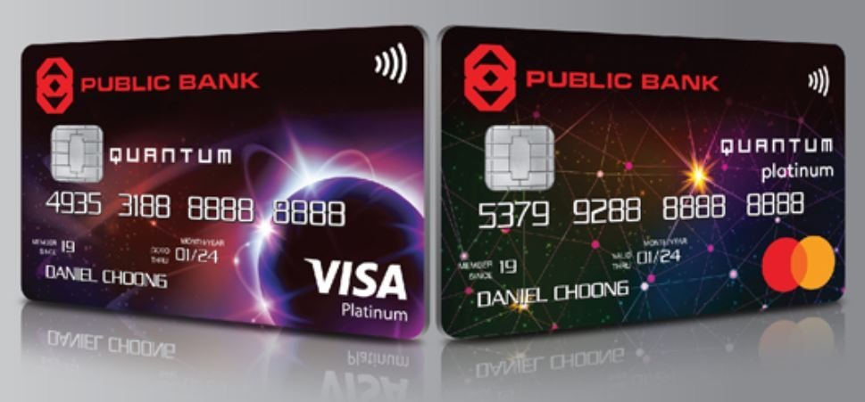 Public Bank Revises Features Of Quantum Visa & Mastercard and AIA Visa Gold Credit Cards