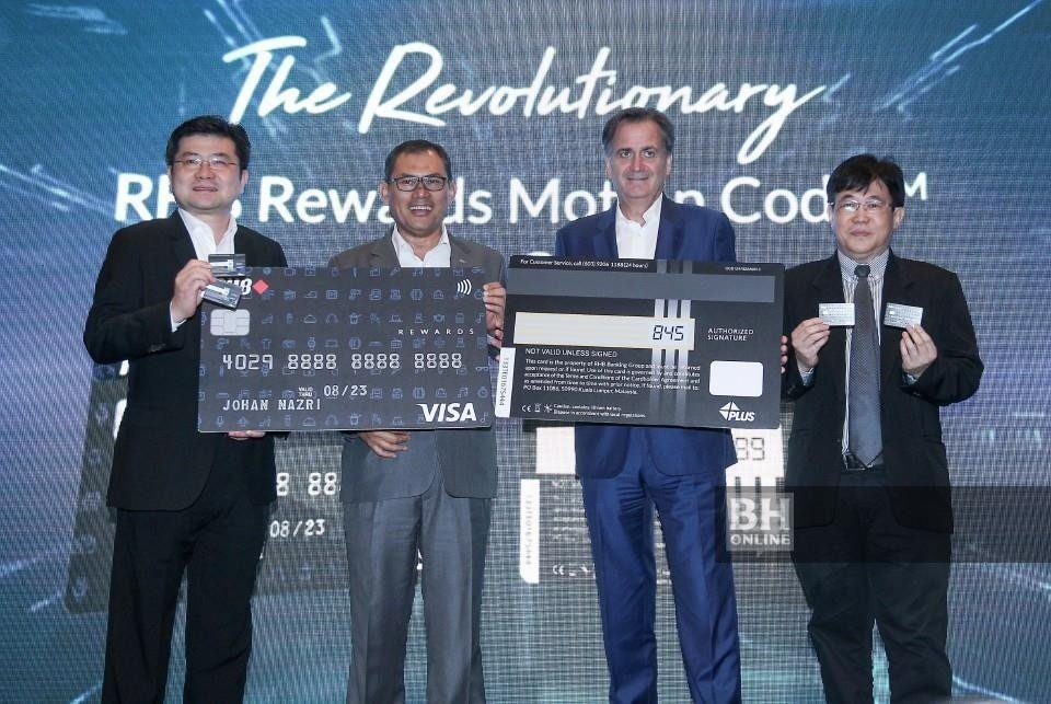 The New RHB Rewards Motion Code Credit Card Features Dynamic CVV Codes