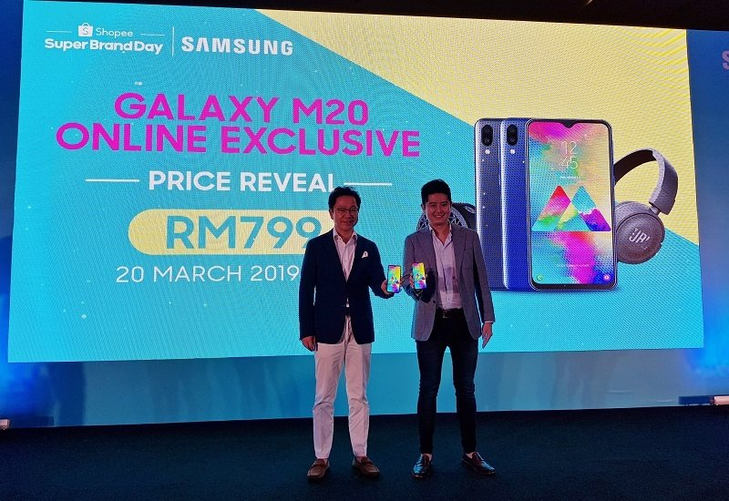 Samsung Galaxy M20 Is Samsung's First Smartphone Sold Exclusively Online in Malaysia