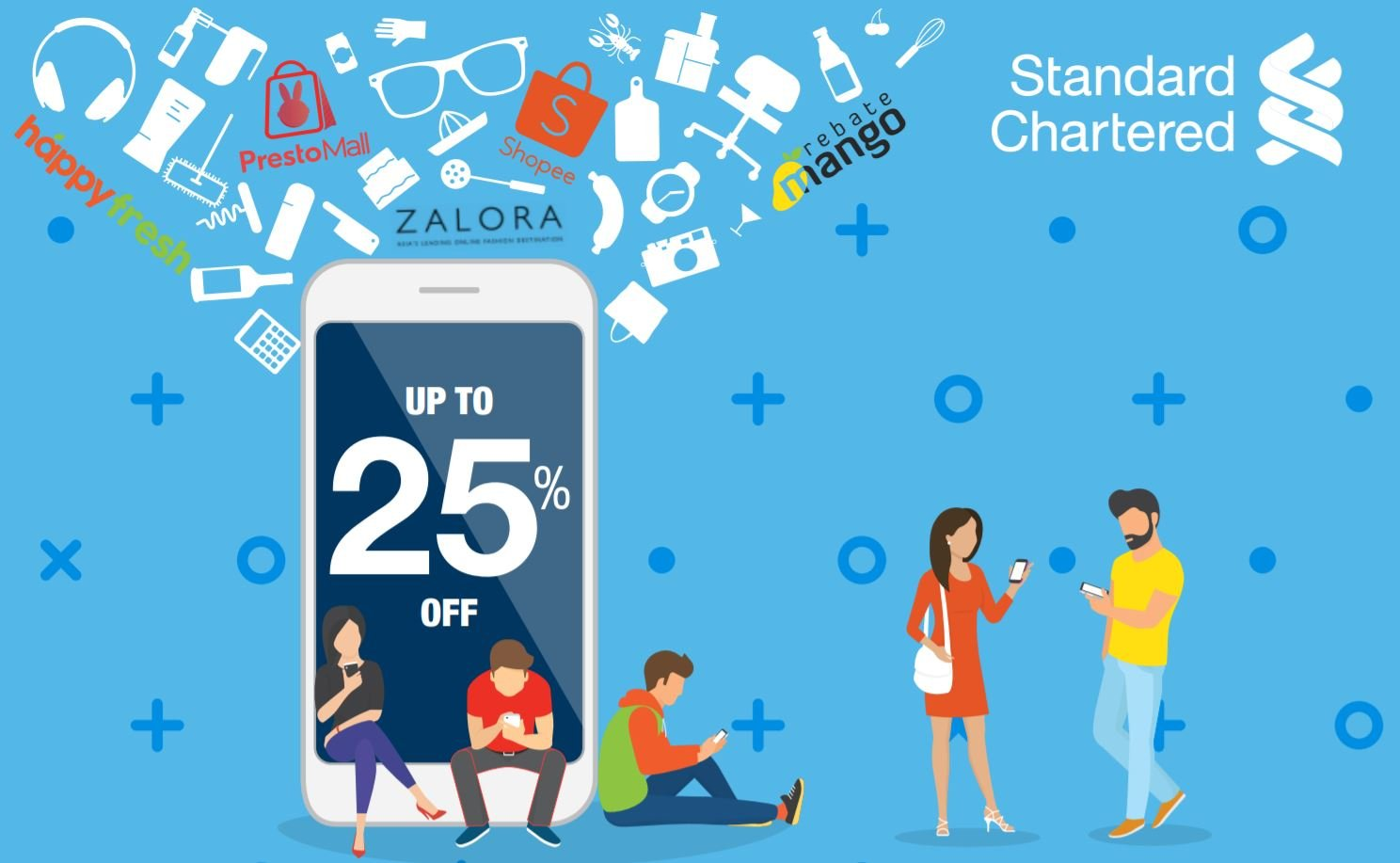 Get Promos Every Day Of The Week With Your Standard Chartered Credit Card