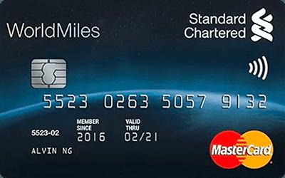 RinggitPlus Standard Chartered WorldMiles World MasterCard