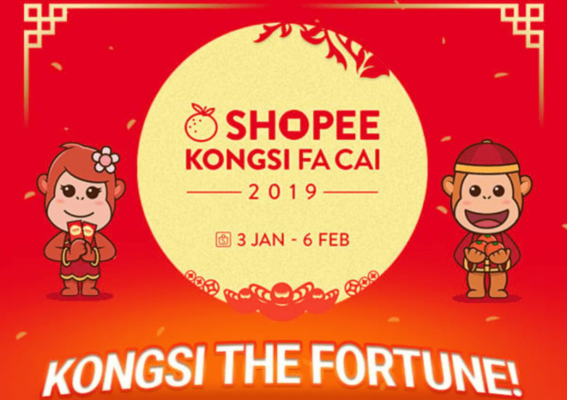 Celebrate This Chinese New Year With Shopee Kongsi Fa Cai