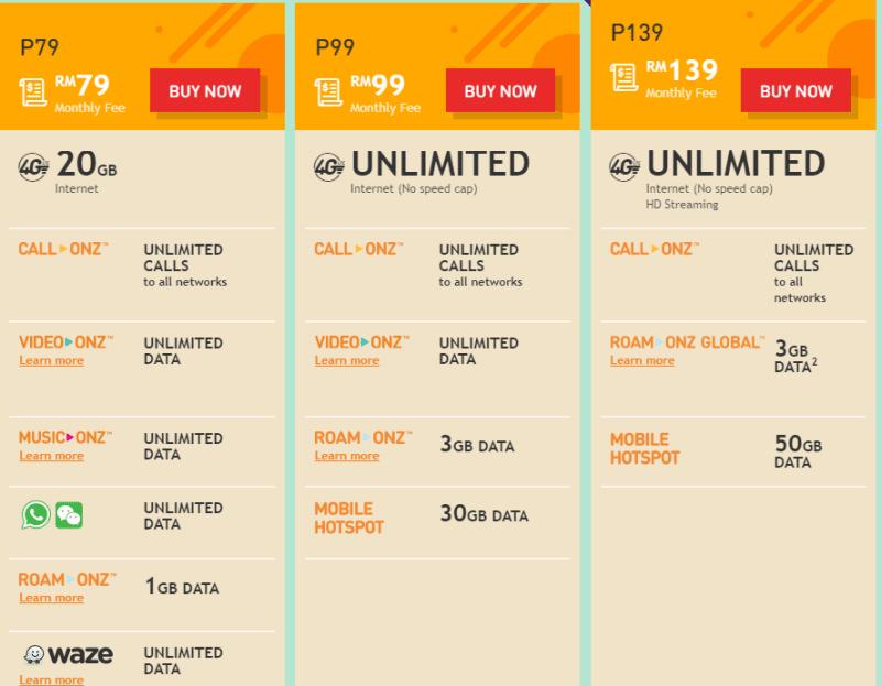 U Mobile Unlimited Hero P139 Plan Offers Free Roaming in ...