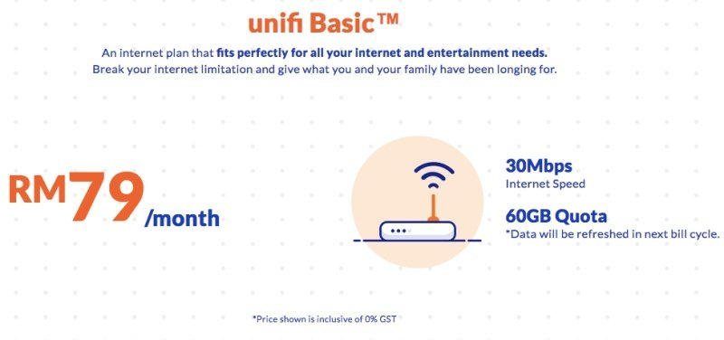 TM Offers Unlimited Unifi Basic Quota And Increases Throttle Speed