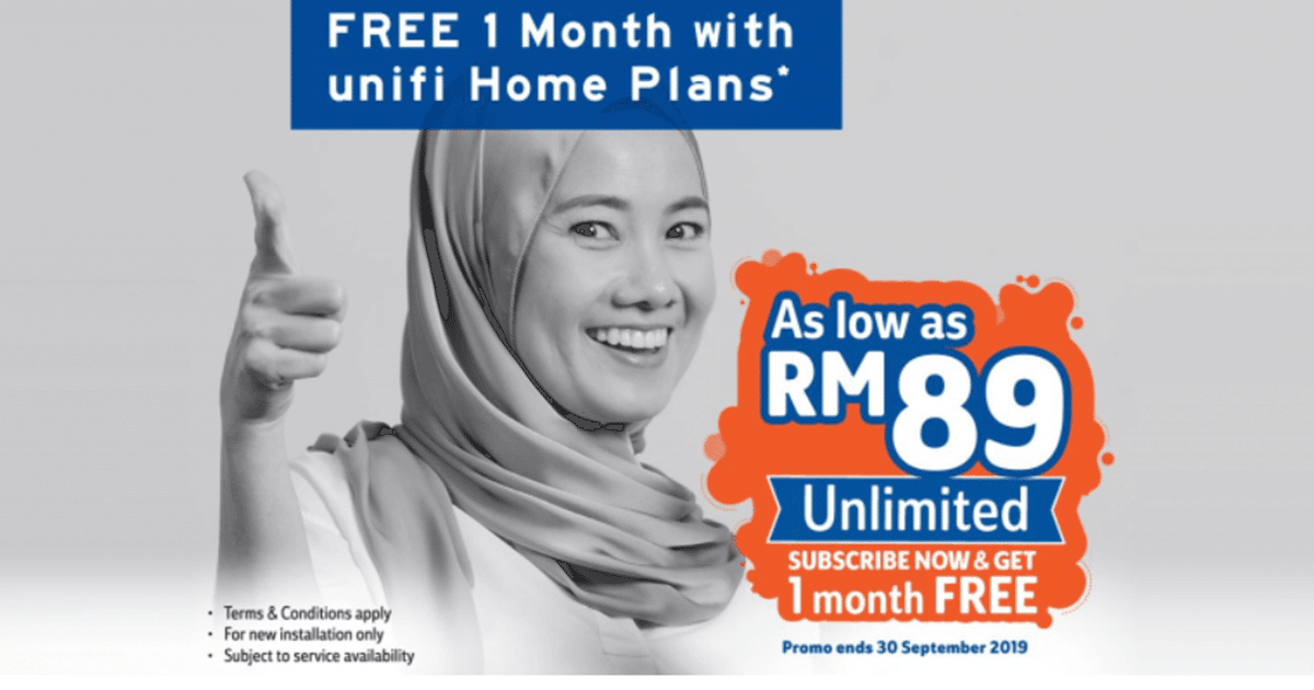 TM Offers New Unifi 30Mbps Unlimited Plan For RM89 Monthly