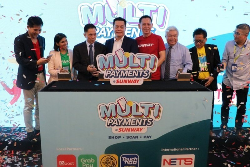 New Unified Payment Terminals At All Sunway Malls Allows Multiple E-Wallet Support