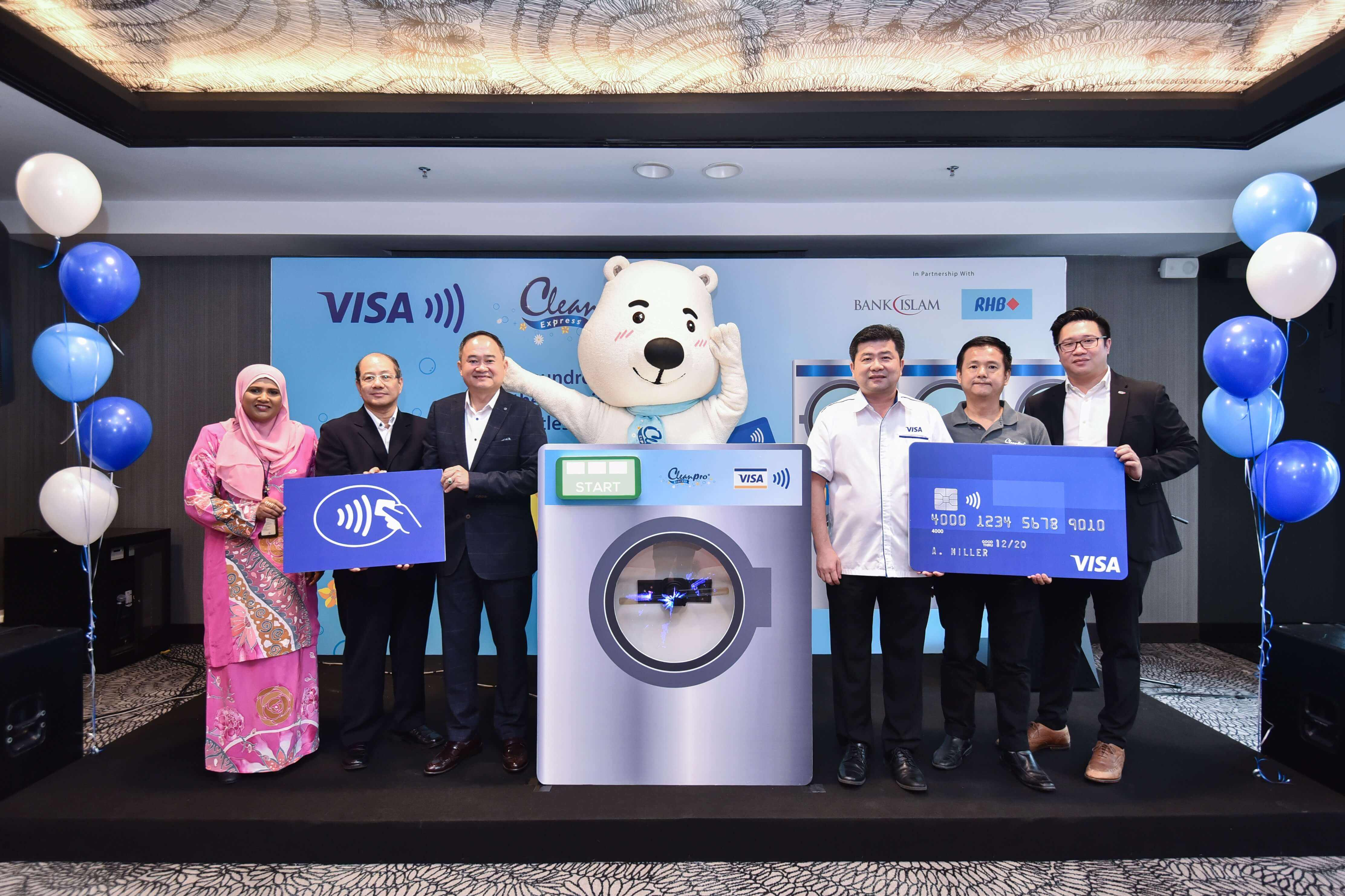Cleanpro Express: First Laundromat Chain In SEA To Accept Visa Contactless Payments