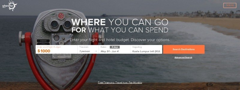 Find Travel Destinations You Didn't Know You Can Afford with This Web App